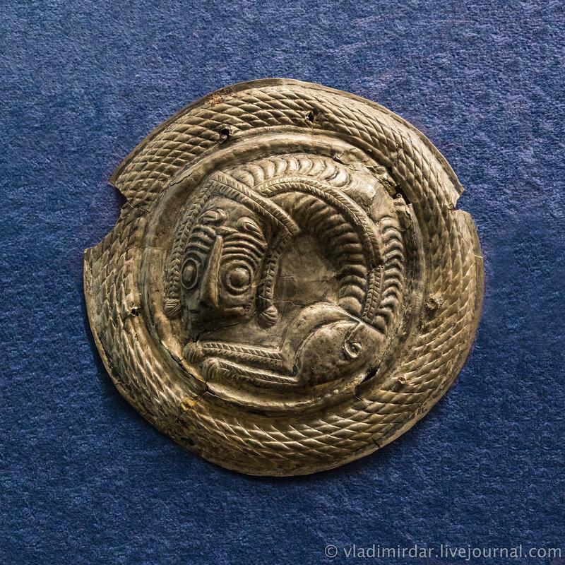Фалары с изображением львов. Серебро. II-I в. до н.э.