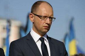 Яценюк не совладал с эмоциями, рассказывая о вторжении российской армии