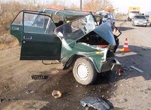 В Новоаненском районе в аварии погибла 19-летняя девушка