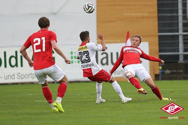 «Спартак» сыграл вничью с «Винтертуром»