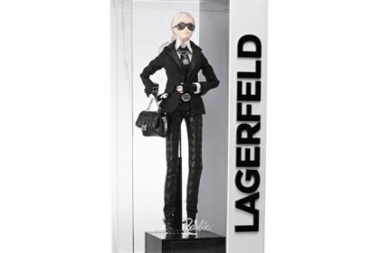 Куклы Барби в новом образе Карла Лагерфельда были распроданы в рекордные сроки