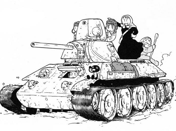 Хаями Расэндзин. Кавайная экскурсия в советскую историю