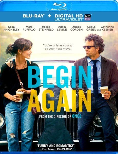 ���� ��� � ����� / Begin again (2013) BDRip 1080p + 720p + HDRip