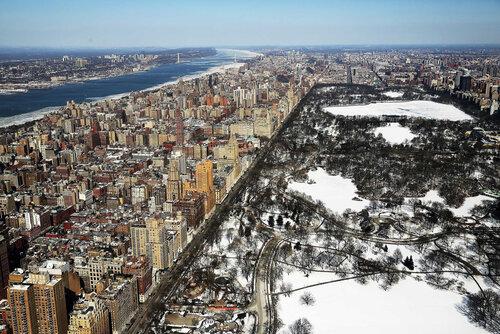 Зима в Нью Йорке.