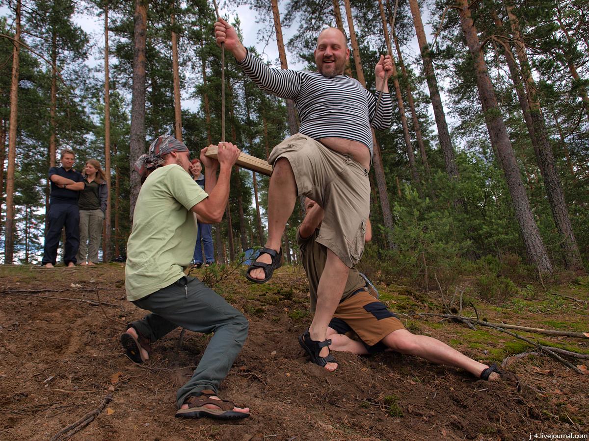 фото, Велопитер, Иван Купала, 2014, празднование, Зеленодольское озеро