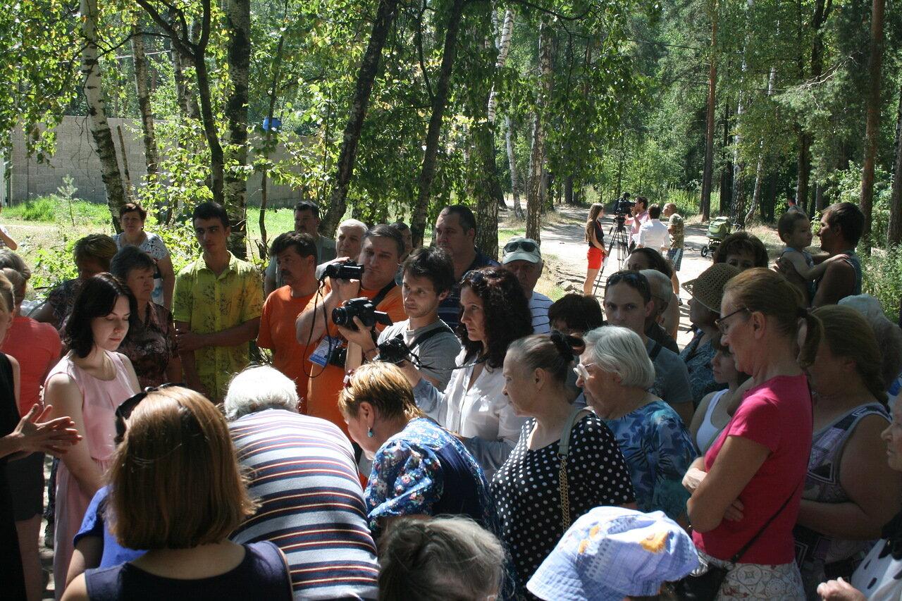 Сход в Зеленом и Щемилово