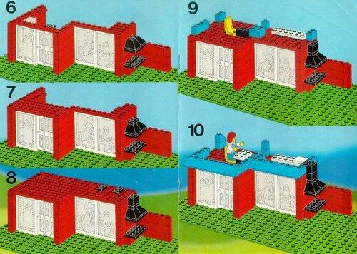 Схема для лего домика