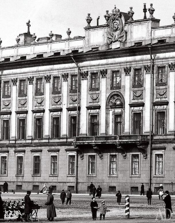 Мраморный дворец в Петербурге.