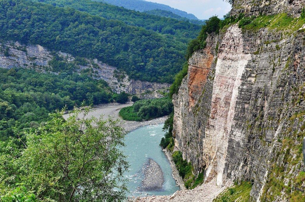Абхазия. Кодорское ущелье