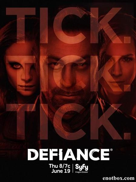 Вызов (Непокорная Земля) / Defiance - Полный 2 сезон [2014, WEB-DLRip | WEB-DL 1080p] (LostFilm)