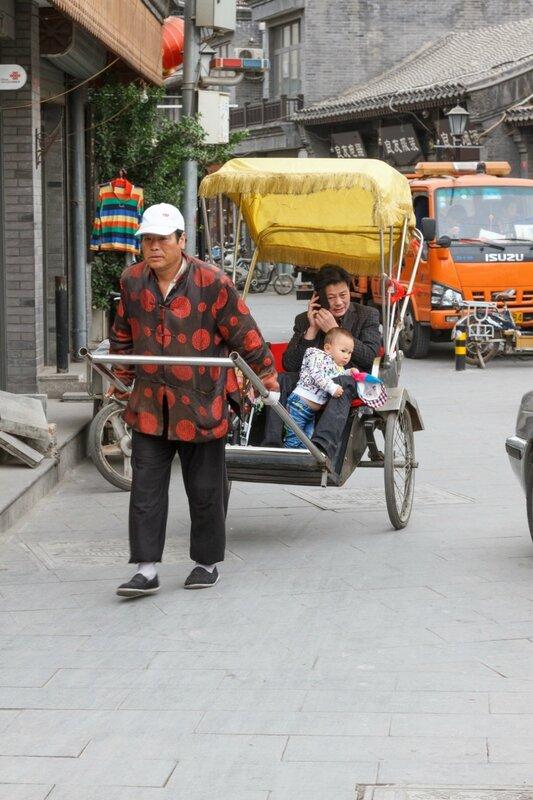 Рикша, Пекин