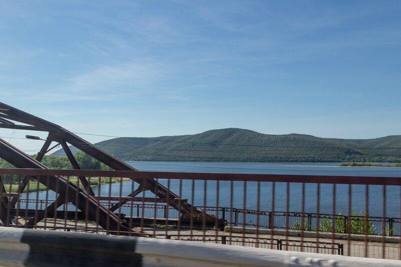 Мост через реку Сок, Самара