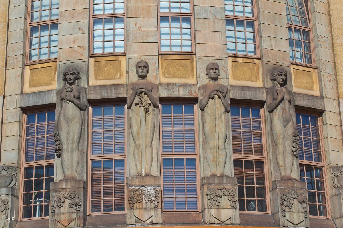 Хельсинки. Новый Дом Студента