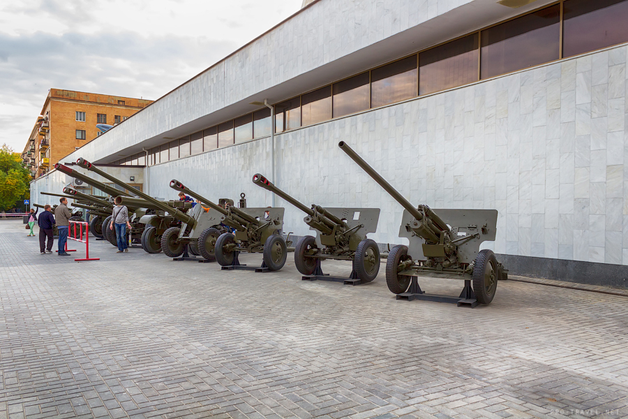 Волгоград, музей Сталинградская битва