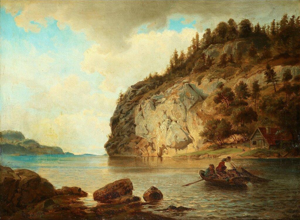 Hans Gude - På kysten (1895)..jpg