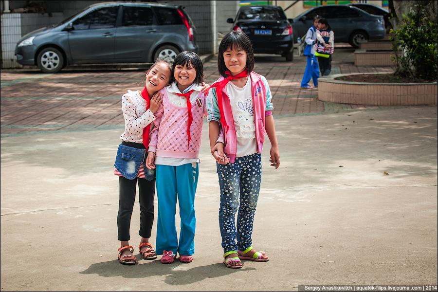 Старики и дети в Китае