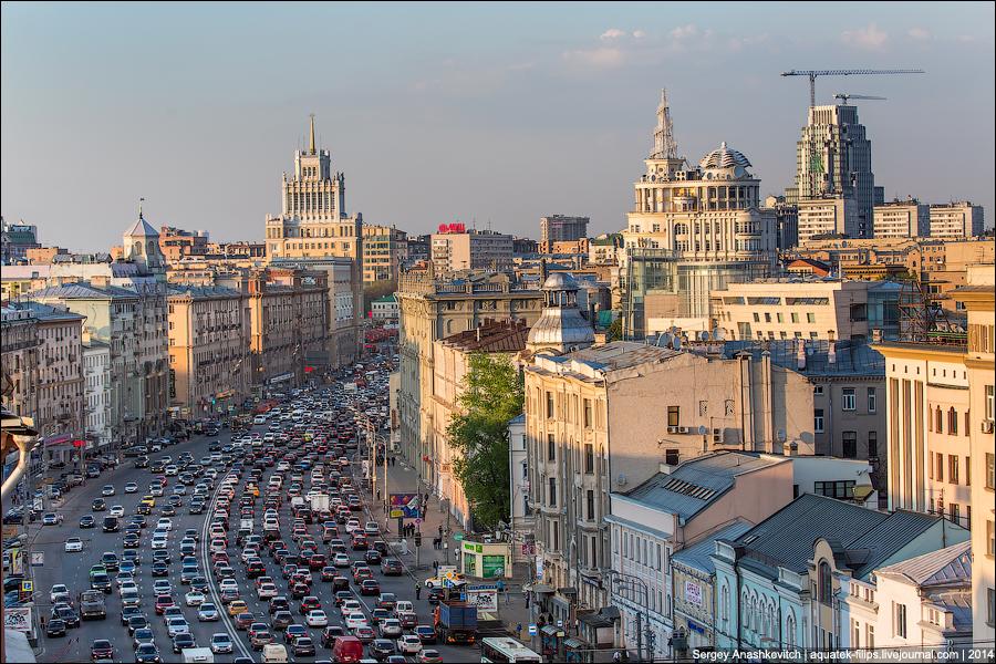 Москва глазами Карлсона