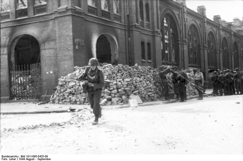 Warschauer Aufstand, Feldjдger