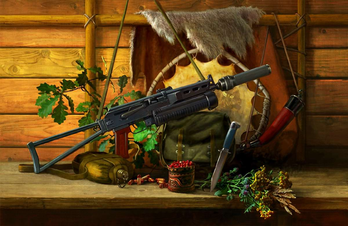 Оружейный натюрморт от студии Geliografic (1)
