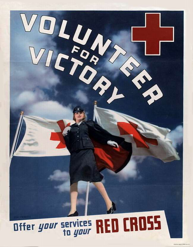 Добровольцы победы - сделайте пожертвования в пользу Красного Креста (США)