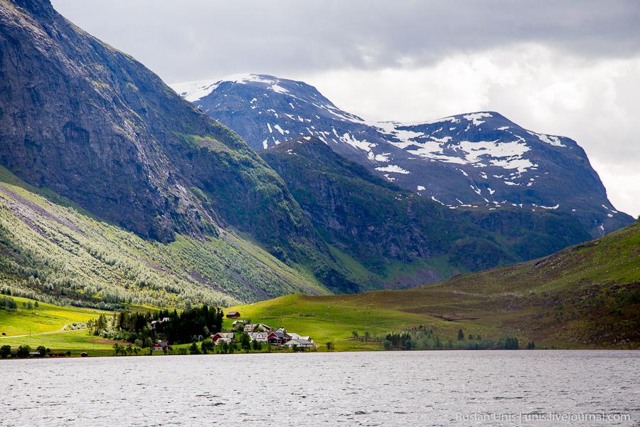Путешествие по Норвегии на автомобиле