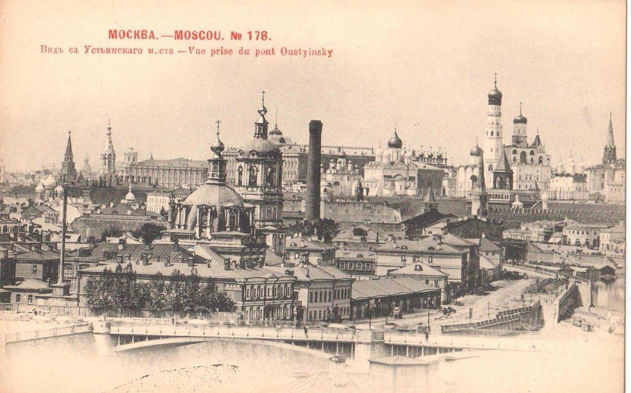 Вид с Устиновского моста