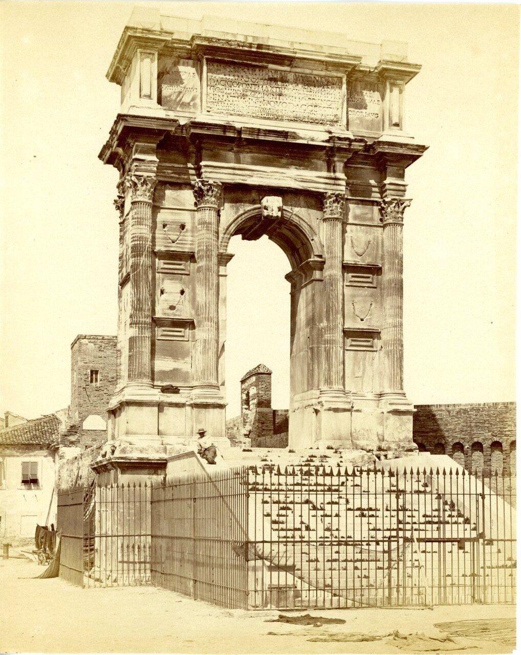 Триумфальная арка. 1875.