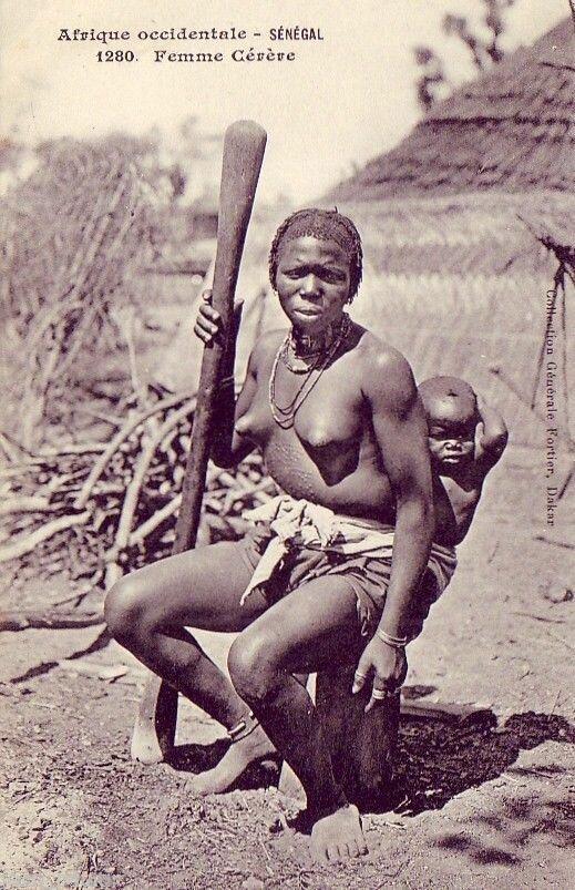 1280. Сенегал. Женщина гереро
