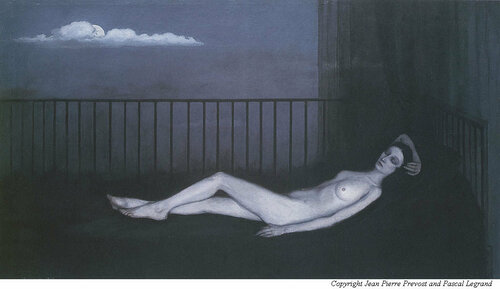 Romaine Brooks'  La Venus triste (The Weeping Venus) with Ida Rubinstein model, (c.1914)