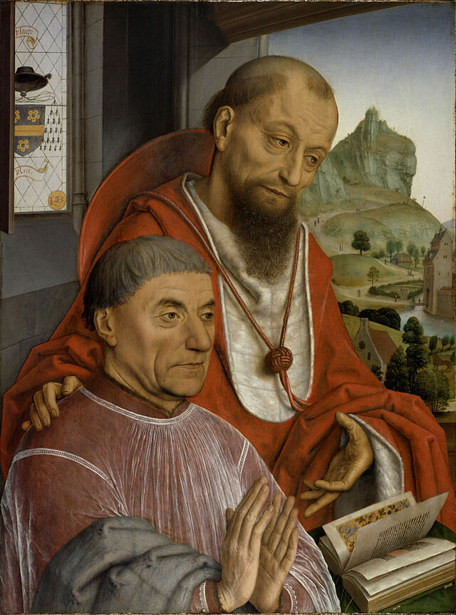 Saint_Jerome_and_a_Canon_Praying 1475-80.jpg