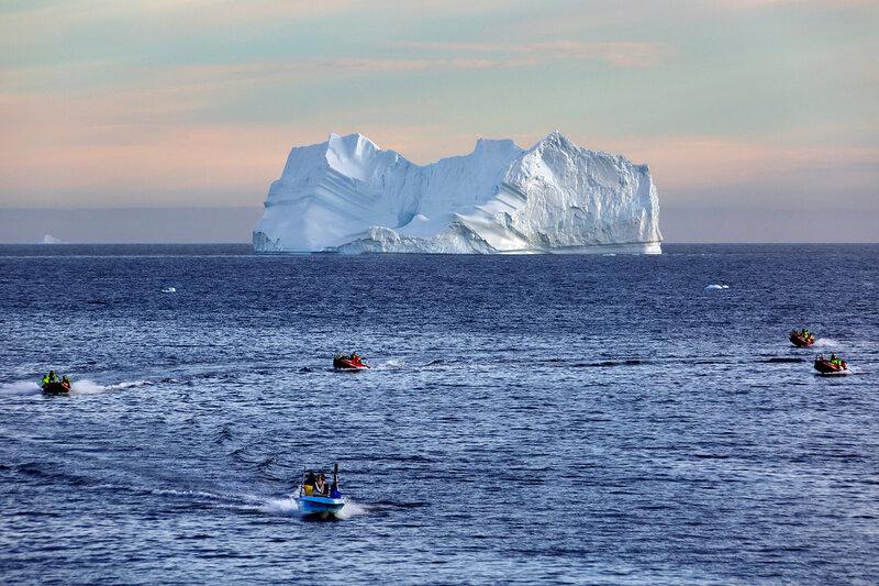 Гренландия - страна айсбергов
