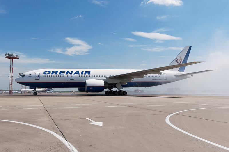 Boeing 777-2Q8/ER (VP-BLA) Orenair D709895