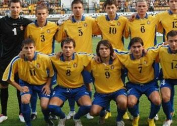 Сборная Молдовы занимает 102 позицию в рейтинге FIFA