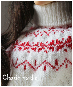 Classic nordic sweater for SD