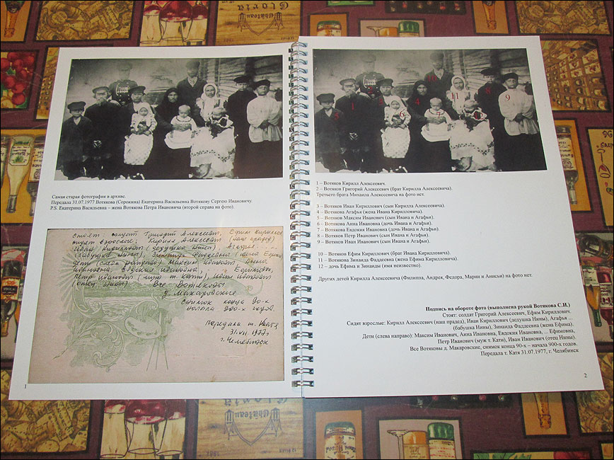 Оформление родословной книги своими руками