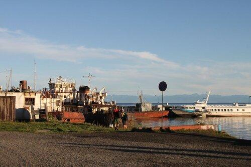 от п.Байкал до Листвянки 05-08-2015