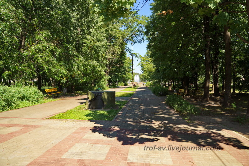ДОТ времен ВОВ и памятный камень, Обнинск