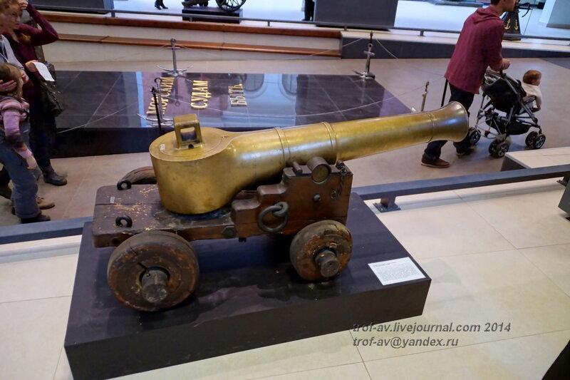 Казнозарядная пушка Косаковского, Центральный военно-морской музей, Санкт-Петербург