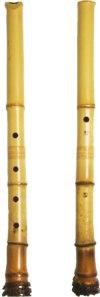 Некоторые японские народные музыкальные инструменты - Сякухати