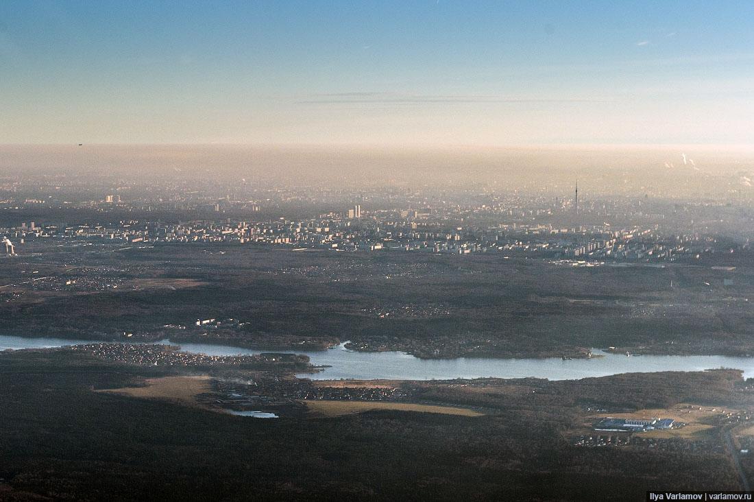 Из Хабаровская в Москву;)) Фотополёт от Ильи Варламова