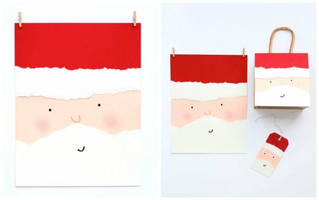 40новогодних открыток, которые можно сделать заполчаса (23 фото)