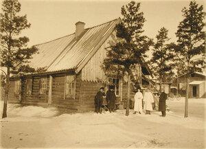 Вид помещения для санитаров старого лазарета