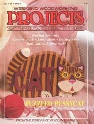 Книга Weekend Woodworking Projects №20 March 1991
