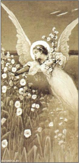 Ангел с лилией