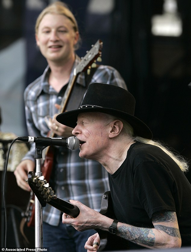 Johnny Winter, Derek Trucks