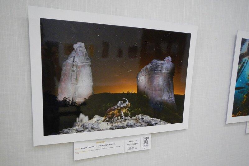 Титаны. Фуэртес Санс Уге (Испания). Жук-носорог на фоне бвух останцев. На фестивале дикой природы Золотая Черепаха