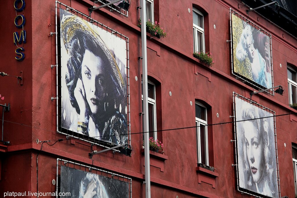 БЕЛЬГИЯ. Брюссель 2014. Городской стрит-арт. Часть первая.