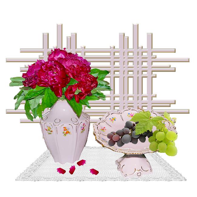 Günaydın kartlarına hazır  resimler,  dantelli çiçekler