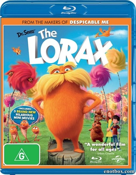 Лоракс / The Lorax (2012/BDRip/HDRip)