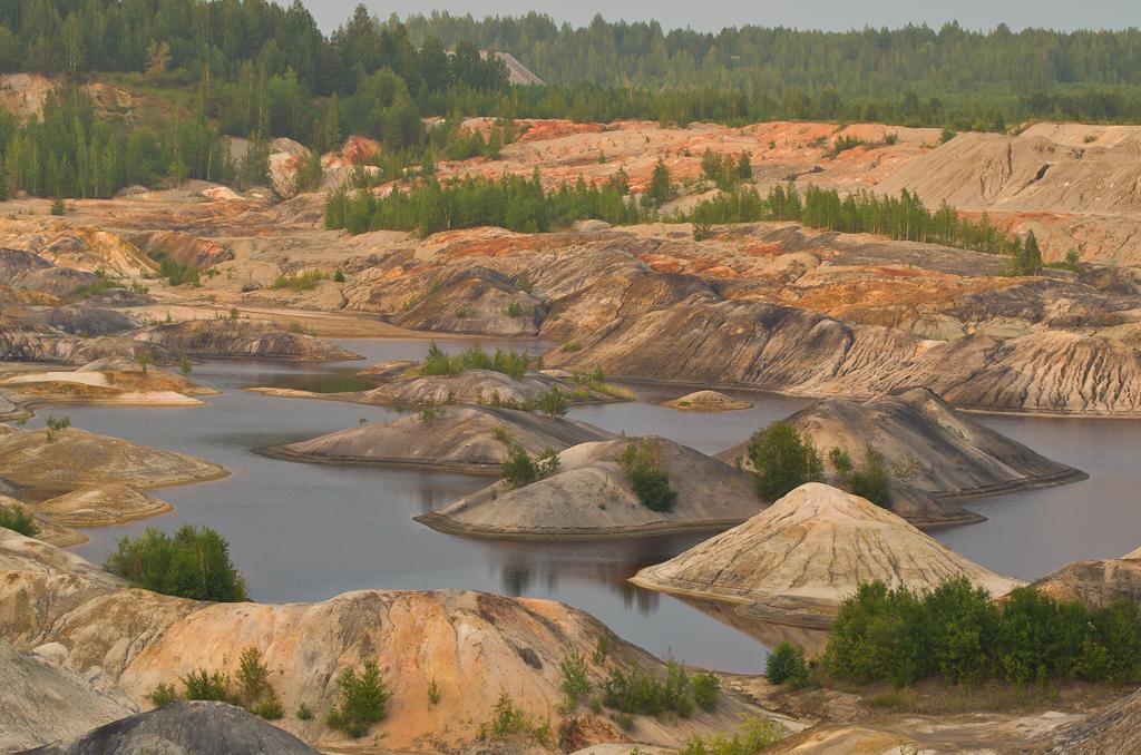 Фотография 2. Камера Nikon D5100. Марсианский пейзаж на Урале.